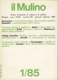 Copertina del fascicolo dell'articolo Ideali democratici e filosofia politica