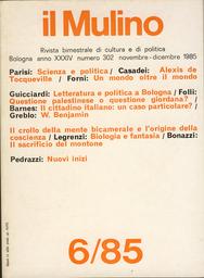 Copertina del fascicolo dell'articolo Il cittadino italiano: un caso particolare