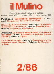 Copertina del fascicolo dell'articolo La parabola dell'eroe. T.E. Lawrence e la letteratura