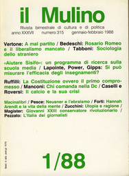 Copertina del fascicolo dell'articolo Quel primo compromesso. I contrasti e le mediazioni all'origine della Repubblica