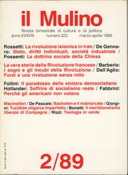 Copertina del fascicolo dell'articolo François Furet: la rivoluzione senza mito