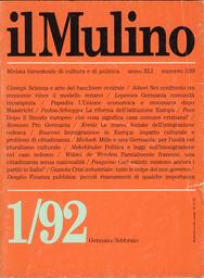 Copertina del fascicolo dell'articolo L'Unione economica e monetaria dopo Maastricht