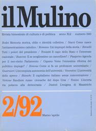 Copertina del fascicolo dell'articolo L'autonomia incompiuta