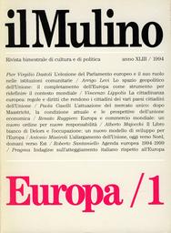 Copertina del fascicolo dell'articolo Un nuovo sviluppo per l'Europa. Le indicazioni del Piano Delors