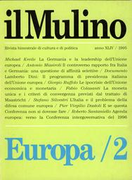 Copertina del fascicolo dell'articolo Il programma di presidenza dell'Unione europea