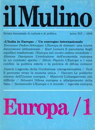 Copertina del fascicolo dell'articolo Il panorama degli equilibri trasformati: l'Europa nel nuovo ordine mondiale