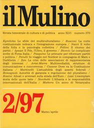 Copertina del fascicolo dell'articolo In viaggio nel Nordest, con Marx e Durkheim