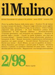Copertina del fascicolo dell'articolo Transizione senza cambiamento: la crisi regionale calabrese