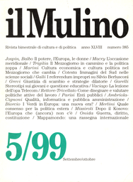 Copertina del fascicolo dell'articolo Cultura economica e cultura politica nel Mezzogiorno che cambia