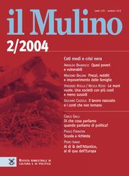Copertina del fascicolo dell'articolo Intellettuali d'Italia, due tipi ideali