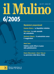 Copertina del fascicolo dell'articolo La governance della Banca d'Italia