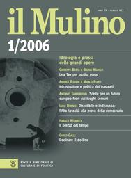 Copertina del fascicolo dell'articolo L'Europa della malinconia