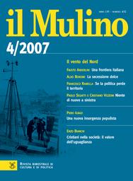 Copertina del fascicolo dell'articolo Una frontiera italiana