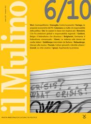 Copertina del fascicolo dell'articolo Cosmopolitismo