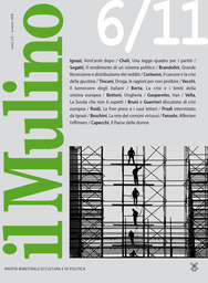 Copertina del fascicolo dell'articolo Il rendimento di un sistema politico