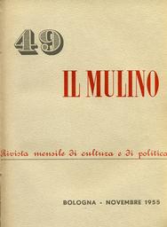 Copertina del fascicolo dell'articolo I Coetanei di ieri