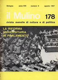 Copertina del fascicolo dell'articolo Una proposta per il partito socialista: la struttura indiretta