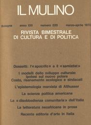 Copertina del fascicolo dell'articolo Lettera a un confratello del presbiterio bolognese