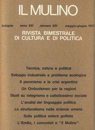 Copertina del fascicolo dell'articolo Lo strutturalismo nelle scienze umane