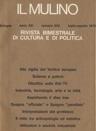 Copertina del fascicolo dell'articolo L'interazione sociale tra antropologia e psicologia