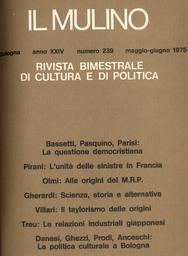 Copertina del fascicolo dell'articolo Scienza, storia e alternativa