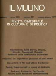 Copertina del fascicolo dell'articolo Una alternativa al Rapporto Bullock