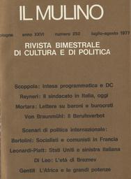 Copertina del fascicolo dell'articolo Le lotte urbane nella ricerca sociologica