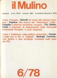 Copertina del fascicolo dell'articolo Il Sistema Monetario Europeo