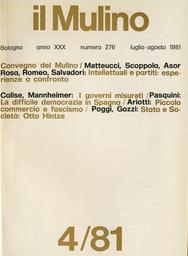Copertina del fascicolo dell'articolo Relazioni