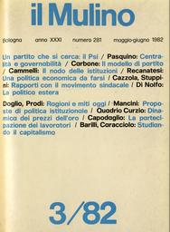 Copertina del fascicolo dell'articolo Braudel: uno storico del cambiamento o dell'